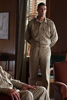 Matthew Fox on filming Emperor in Japan