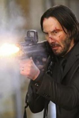 Keanu Reeves filming John Wick 2 in New York
