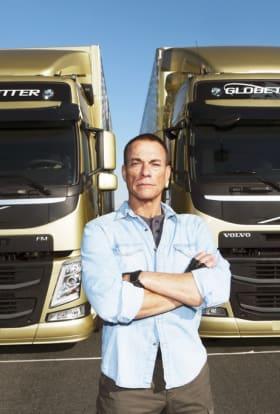 Van Damme performs splits in epic Volvo ad