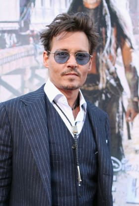 Johnny Depp returns as the Mad Hatter