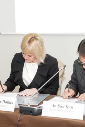 Estonia and South Korea sign new agreement