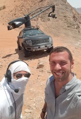 Jeep filmed single-day ad shoot near Dubai