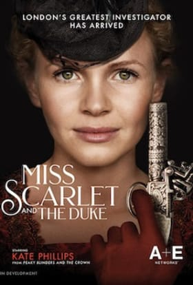 Miss Scarlet and The Duke to film in Dublin