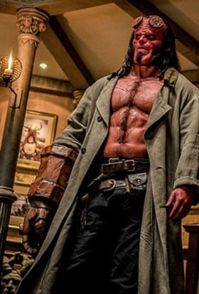 Hellboy filmed on Bulgarian sound stages