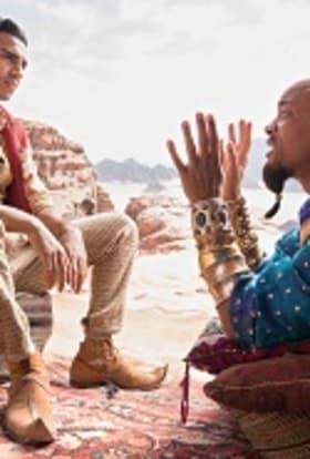 Disney built Arabia in the UK for Aladdin