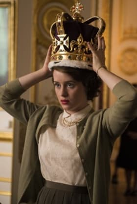Netflix filming The Crown largely in the UK
