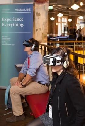 Virtual reality gets London summit showcase