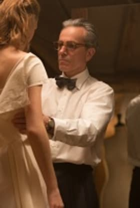 Phantom Thread films in London townhouse