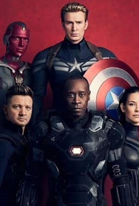 Marvel films Avengers: Infinity War in Edinburgh