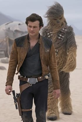 Solo Star Wars movie films in Canary Islands