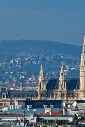 International period drama filming in Vienna