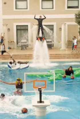 22 takes, one epic pool dunk from CP+B