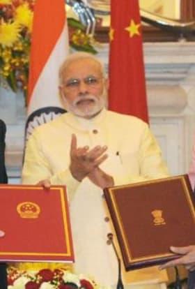 India and China sign co-production treaty