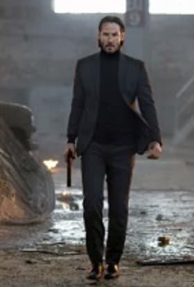 Keanu Reeves films John Wick 2 in Rome