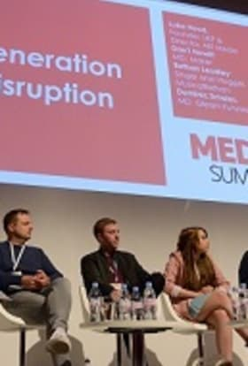 London hosts top creatives at Media Summit