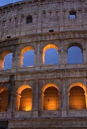 Ancient Rome origins story films at Cinecitta Studios
