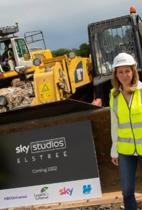 Sky Studios Elstree gets go-ahead for construction to begin