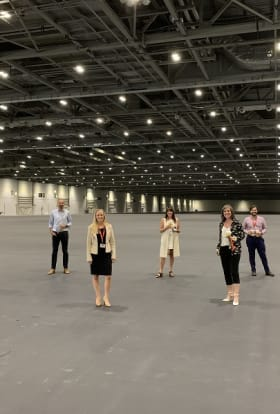 Exclusive: ExCeL London re-opens to film and TV productions