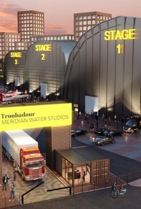 Troubadour Theatres to build huge film and TV studio complex in London