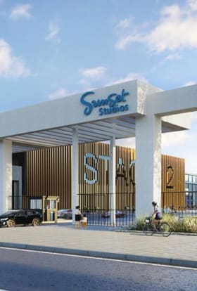 Sunset Studios coming to London with £700m facility