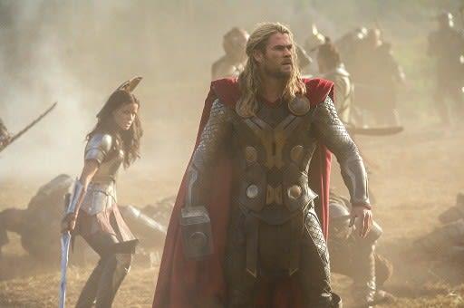 Thor The Dark World Chris Hemsworth Zachary Levi Tom Hiddleston
