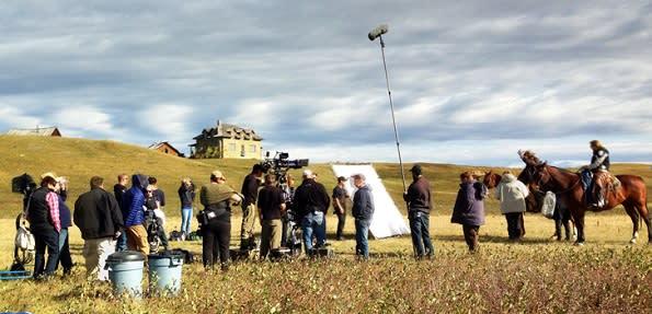 Alberta Western filming