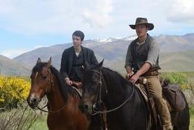 Slow West on horseback in NZ