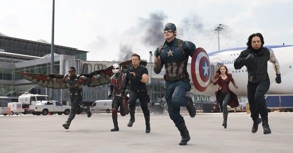 Captain America Civil War at Leipzig Airport