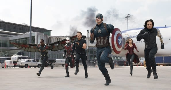 Marvel brought Captain America filming to Germany