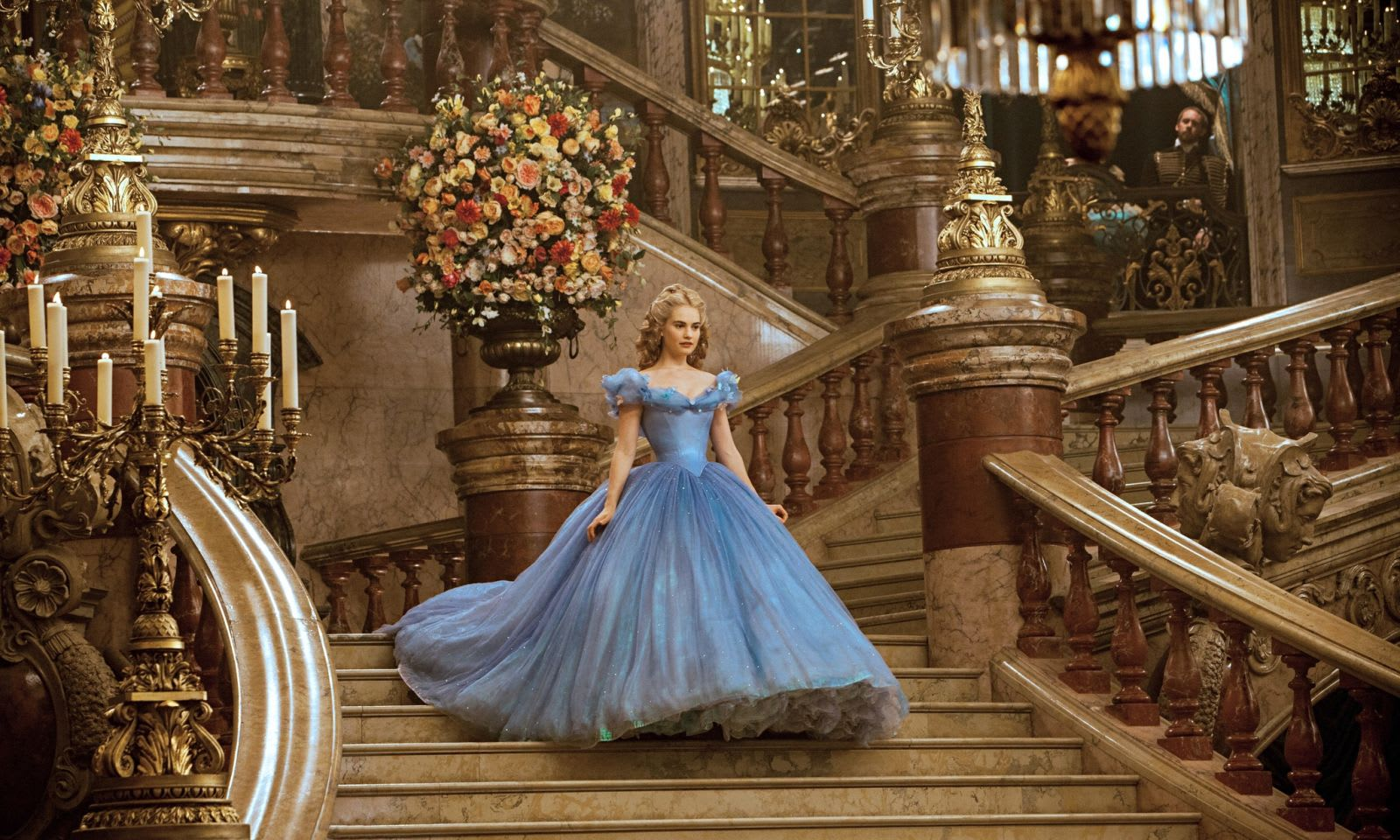 Cinderella Disney film Kenneth Branagh Lily James