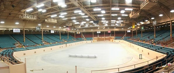 Tingley Coliseum in New Mexico