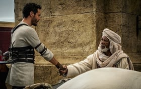 Ben-Hur and Morgan Freeman