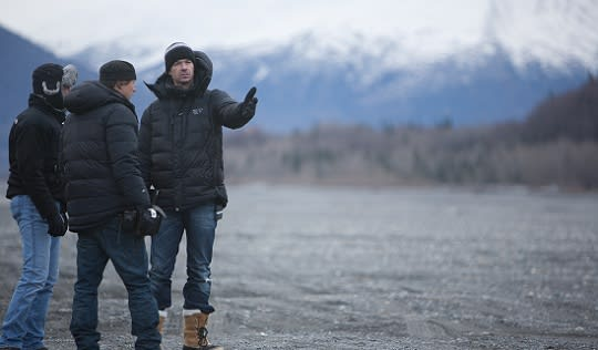 The Frozen Ground - shooting in Alaska