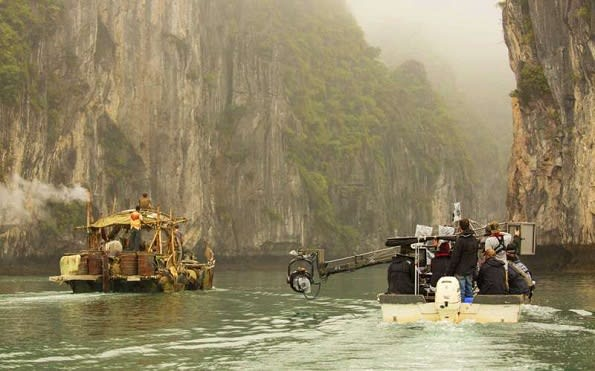 Kong on location