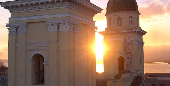 Santiago sunset Cuba 595