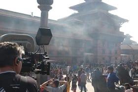 Doctor Strange Kathmandu temple