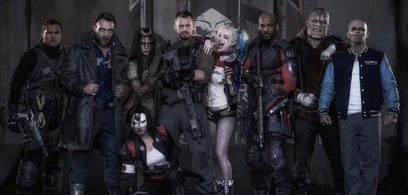 Suicide Squad ensemble