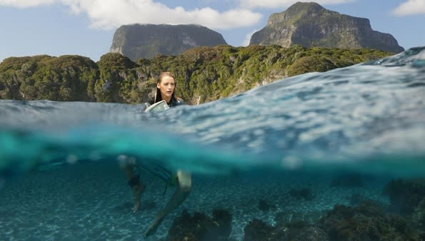 The Shallows water filming