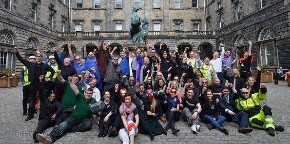 Avengers Edinburgh crew