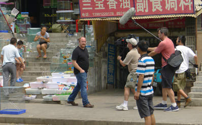 Beijing Louis CK shooting