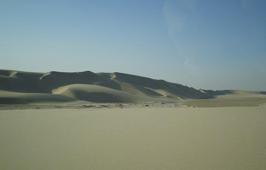 Qatar desert film location