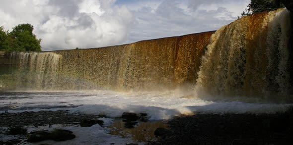 Waterfall in Estonia