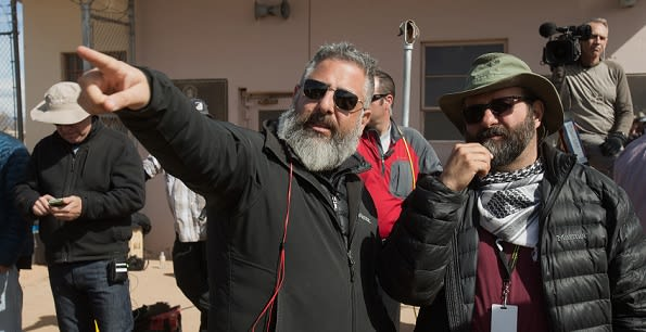 DoP Xavier Grobet on filming New Mexico and editing on-set