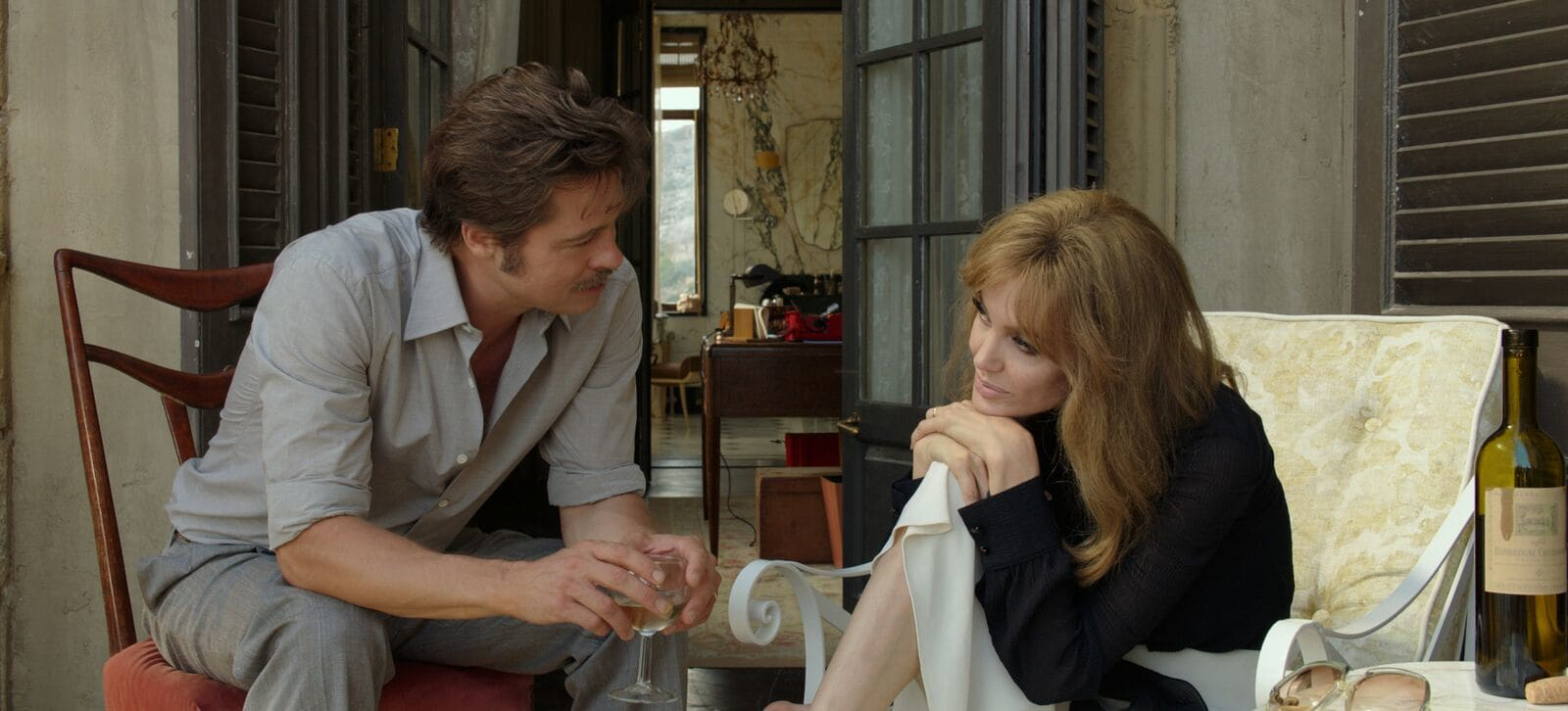 Brad Pitt and Angelina Jolie in By The Sea film