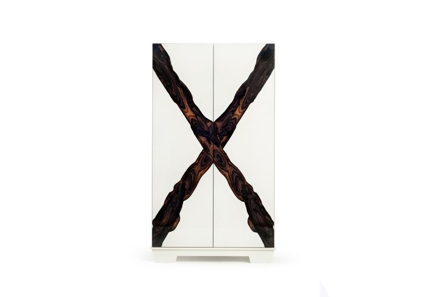 Шкаф «Х» | Студия дизайна Юрия Зименко