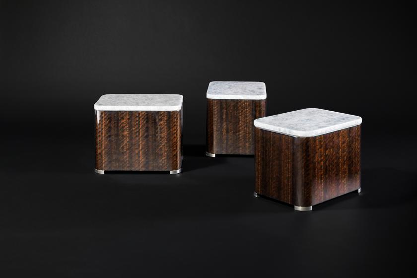 Дизайн столика «Кофейное зерно»