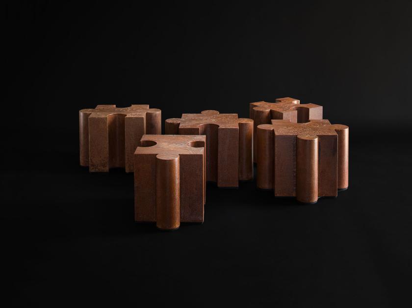 Столики «Паззл» | Студия дизайна Юрия Зименко
