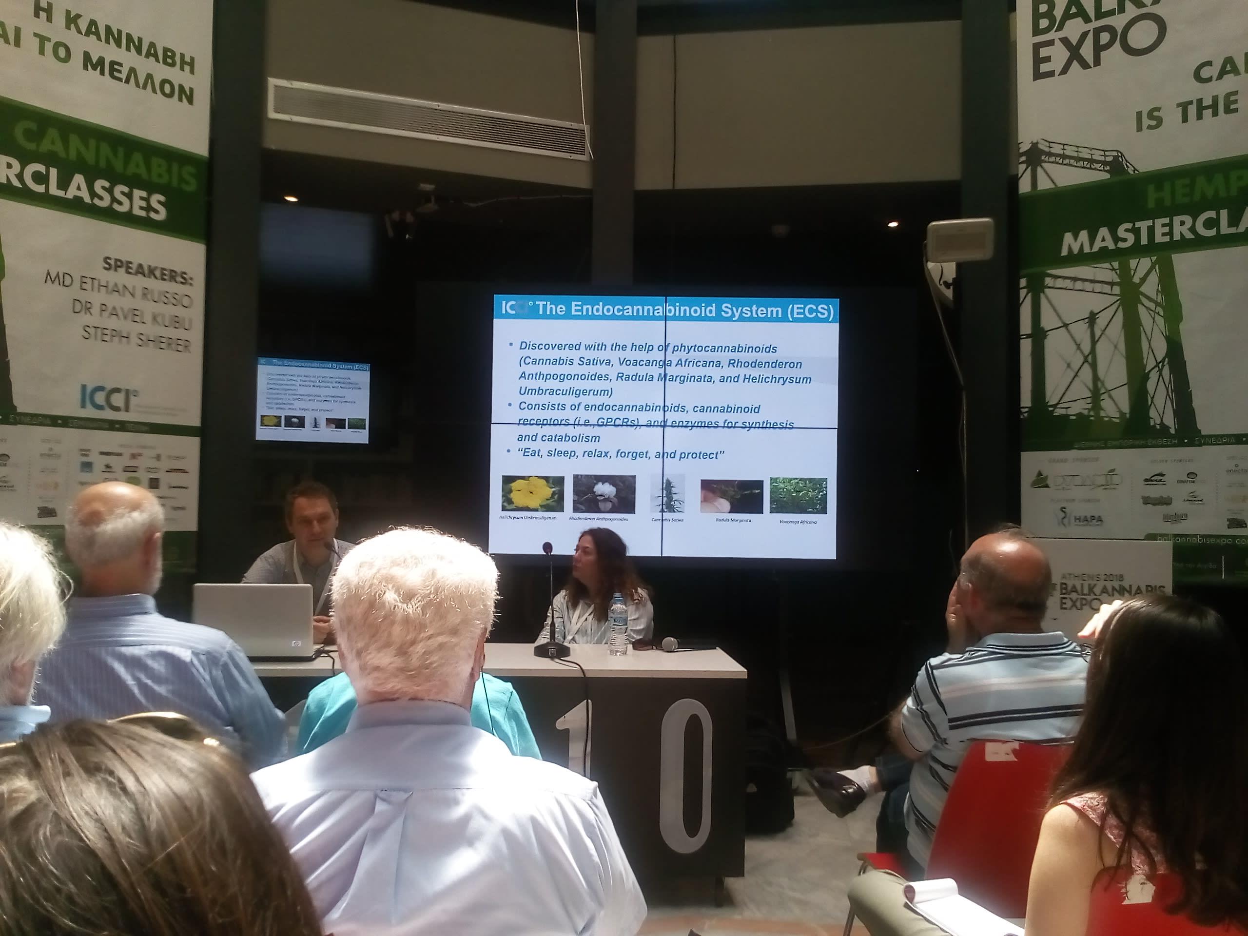 Ιατρικά Σεμινάρια @ Balkannabis Expo 1