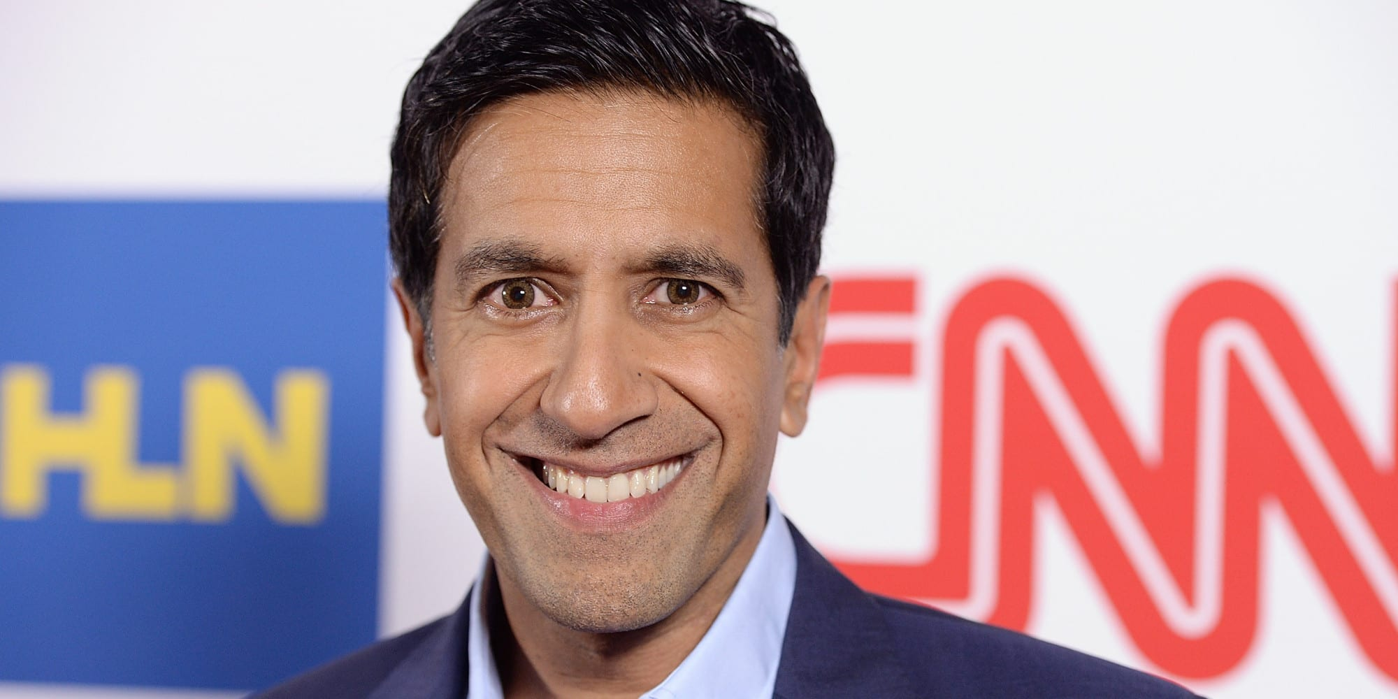 PASADENA, CA - JANUARY 10: Dr. Sanjay Gupta attends the CNN Worldwide All-Star Party At TCA at Langham Hotel on January 10, 2014 in Pasadena, California. (Photo by Michael Kovac/WireImage)