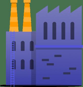 Ilustração de um prédio